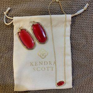 October Kendra Scott Necklace & Necklace